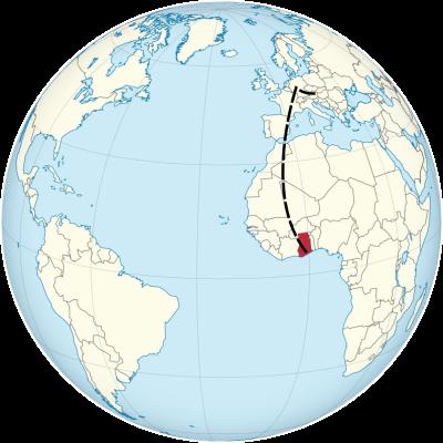 Ghana_on_the_globe_(Cape_Verde_centered)